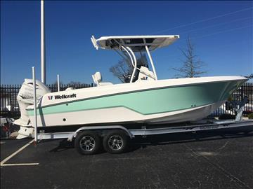 2017 Wellcraft 222 FISHERMAN for sale at Vehicle Network, LLC - Performance East, INC. in Goldsboro NC