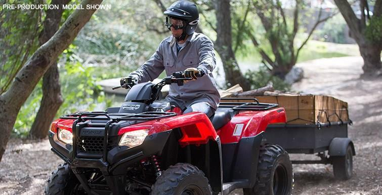 2017 Honda FourTrax Rancher 4x4 ES for sale at Vehicle Network, LLC - Ron Ayers Motorsports in Greenville NC