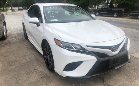 2018 Toyota Camry for sale in Simpsonville, SC