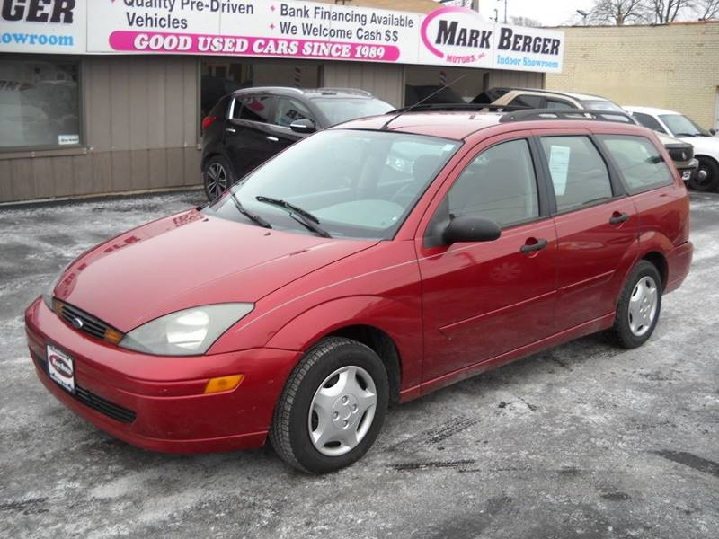 2004 Ford Focus for sale at Mark Berger Motors Inc in Rockford IL