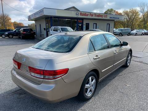 2004 Honda Accord EX w/Leather for sale at H4T Auto in Toledo OH