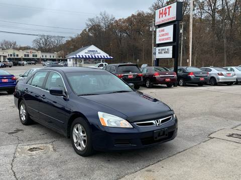 2007 Honda Accord EX-L for sale at H4T Auto in Toledo OH