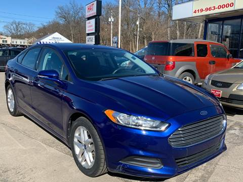 2013 Ford Fusion SE for sale at H4T Auto in Toledo OH