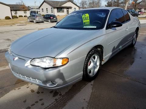 2001 Chevrolet Monte Carlo for sale in Red Oak, IA