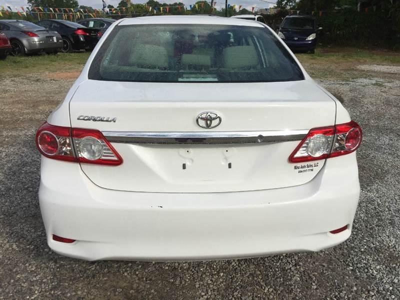 2013 Toyota Corolla LE 4dr Sedan 4A - Greenville SC