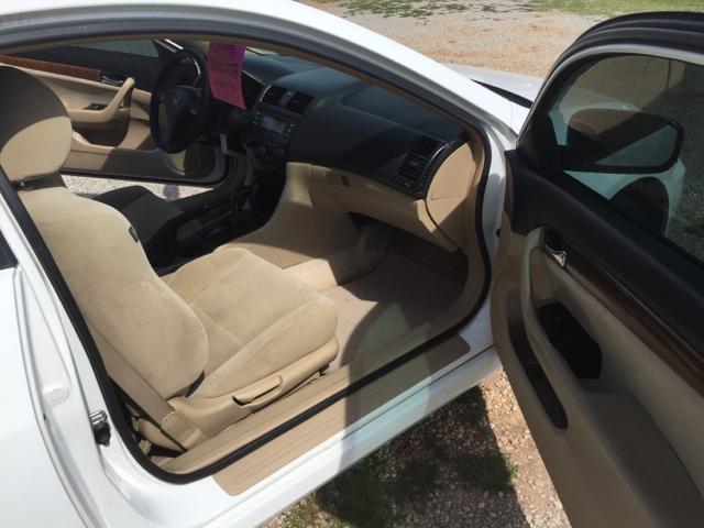 2007 Honda Accord LX 2dr Coupe (2.4L I4 5A) - Greenville SC