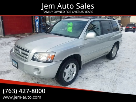 Toyota Used Cars Muscle Cars For Sale For Sale Anoka Jem Auto Sales