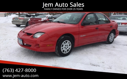 2002 Pontiac Sunfire for sale in Anoka, MN