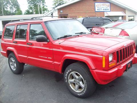1998 Jeep Cherokee for sale at Allstar Motors, Inc. in St. Louis MO