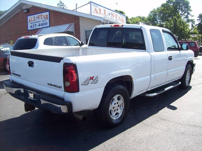 2004 Chevrolet Silverado 1500 for sale at Allstar Motors, Inc. in St. Louis MO