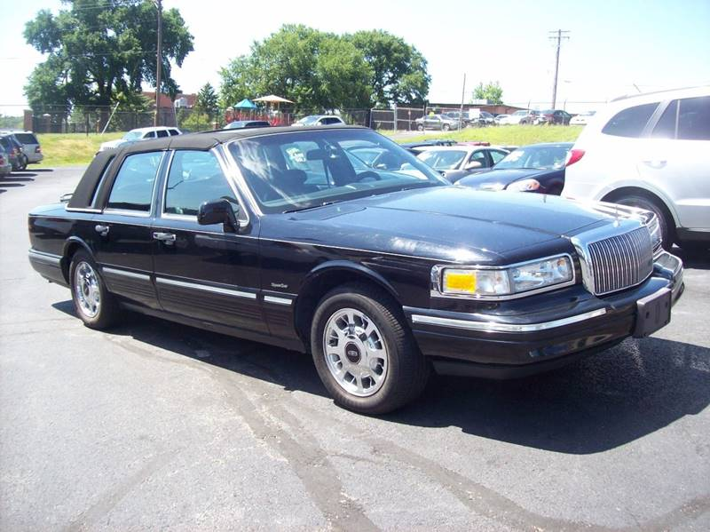 1997 Lincoln Town Car for sale at Allstar Motors, Inc. in St. Louis MO