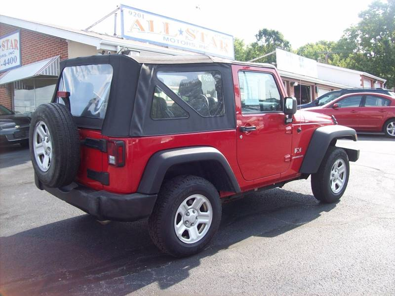 2009 Jeep Wrangler for sale at Allstar Motors, Inc. in St. Louis MO