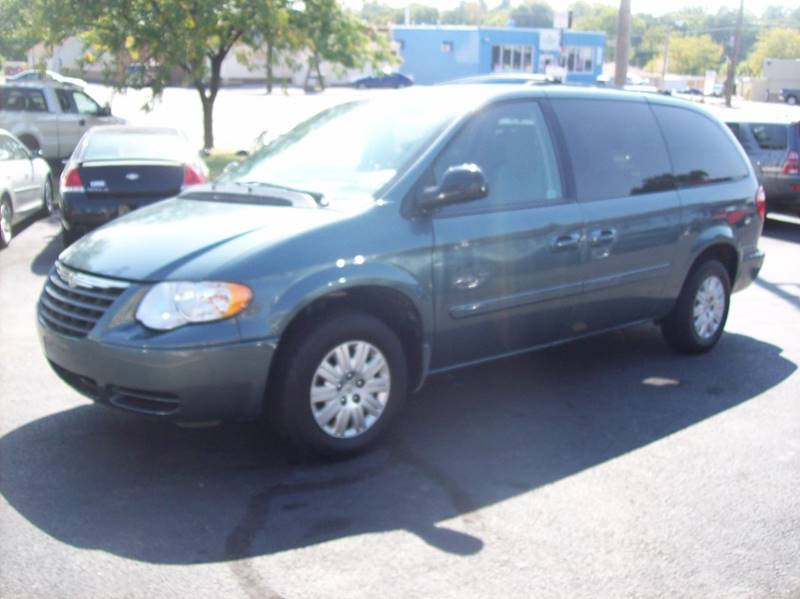2007 Chrysler Town and Country for sale at Allstar Motors, Inc. in St. Louis MO