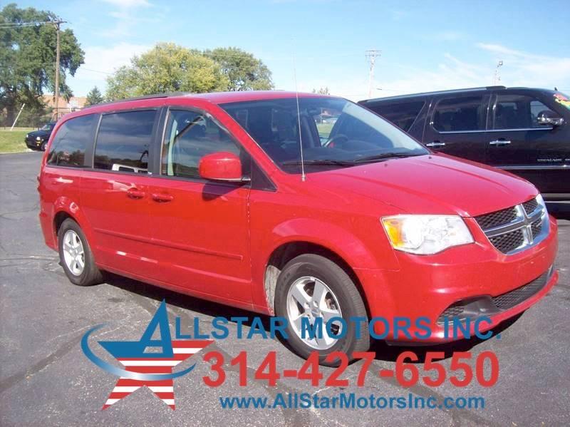 2012 Dodge Grand Caravan Sxt In St Louis Mo Allstar Motors Inc