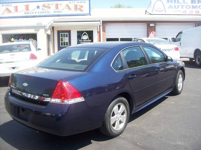 2010 Chevrolet Impala for sale at Allstar Motors, Inc. in St. Louis MO