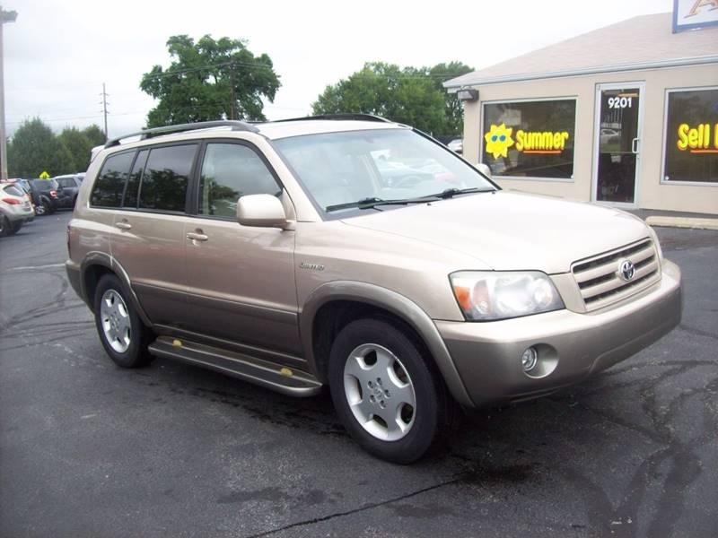 2004 Toyota Highlander for sale at Allstar Motors, Inc. in St. Louis MO