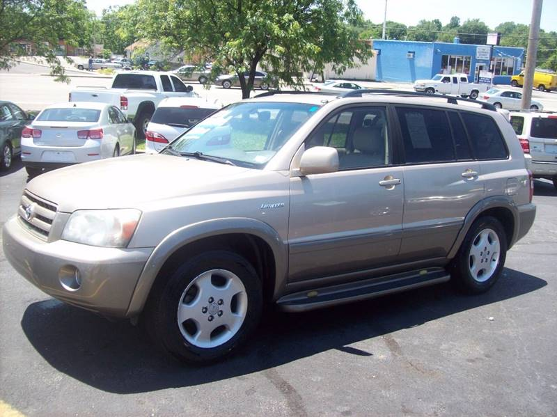 2004 Toyota Highlander for sale at Allstar Motors, Inc. in St. Louis MO