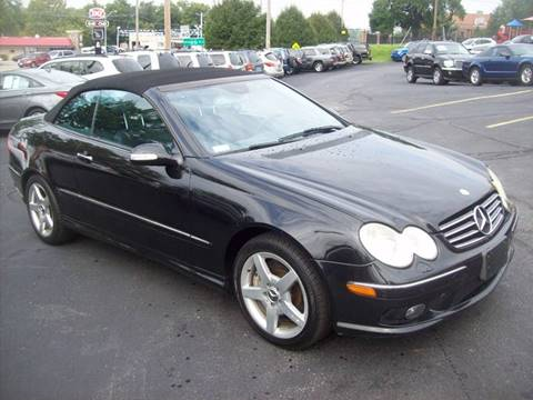 2005 Mercedes-Benz CLK for sale at Allstar Motors, Inc. in St. Louis MO