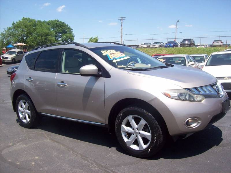 2009 Nissan Murano for sale at Allstar Motors, Inc. in St. Louis MO