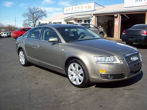 2005 Audi A6 for sale at Allstar Motors, Inc. in St. Louis MO