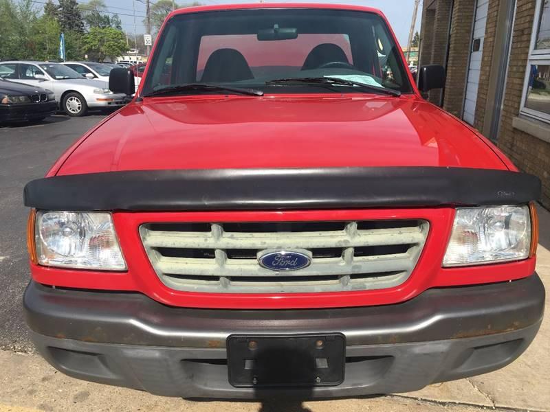 2003 Ford Ranger 2dr Standard Cab XL RWD LB - Kenosha WI