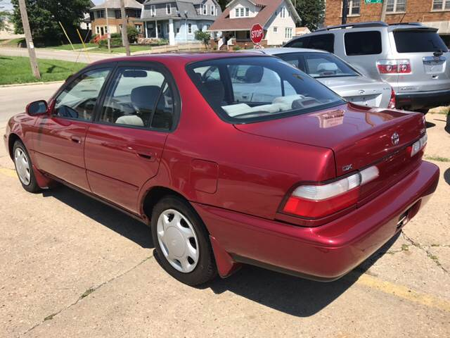 1996 Toyota Corolla DX 4dr Sedan - Kenosha WI
