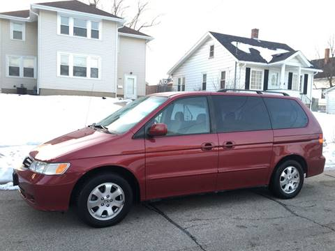 2002 Honda Odyssey for sale at Petite Auto Sales in Kenosha WI