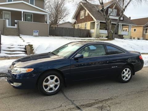 2002 Toyota Camry Solara for sale at Petite Auto Sales in Kenosha WI