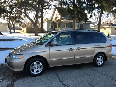 2001 Honda Odyssey for sale at Petite Auto Sales in Kenosha WI