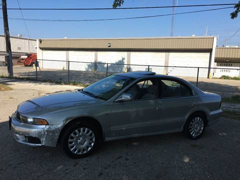 2003 Mitsubishi Galant for sale at Petite Auto Sales in Kenosha WI