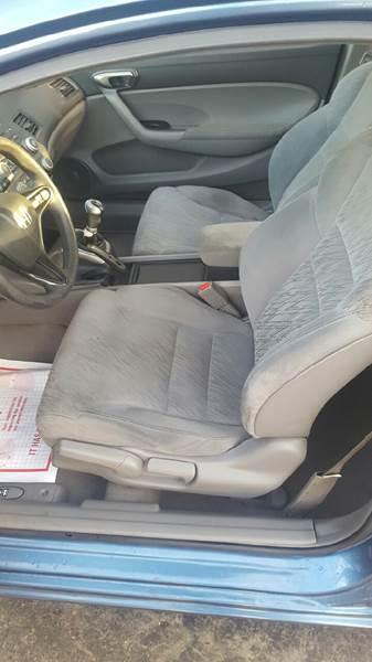 2007 Honda Civic LX 2dr Coupe (1.8L I4 5M) - Kenosha WI