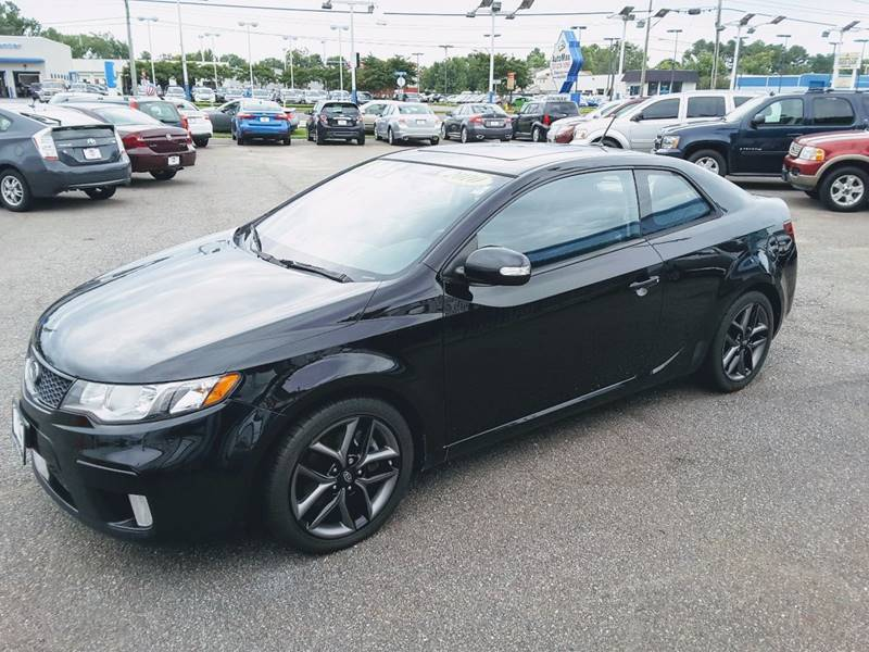 2010 Kia Forte Koup for sale at 1 Stop Auto Wholesale Outlet in Norfolk VA