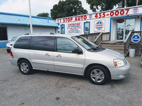 2006 Ford Freestar for sale at 1 Stop Auto Wholesale Outlet in Norfolk VA