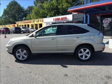 2007 Lexus RX 350 for sale at 1 Stop Auto Wholesale Outlet in Norfolk VA