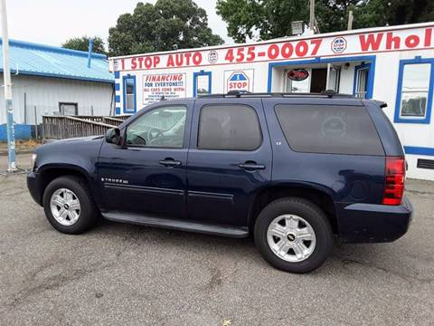 2009 Chevrolet Tahoe for sale at 1 Stop Auto Wholesale Outlet in Norfolk VA