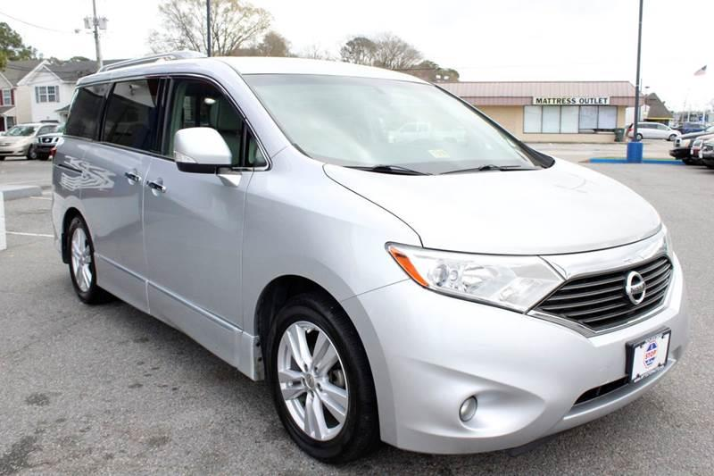 2011 Nissan Quest 35 Sl In Norfolk Va 1 Stop Auto Wholesale Outlet
