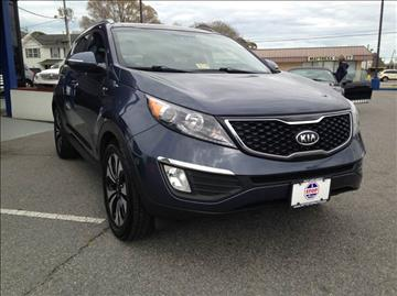 2012 Kia Sportage for sale at 1 Stop Auto Wholesale Outlet in Norfolk VA