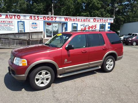 2004 Ford Explorer for sale at 1 Stop Auto Wholesale Outlet in Norfolk VA