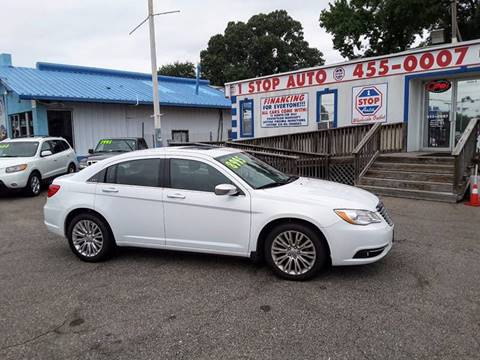 2011 Chrysler 200 for sale at 1 Stop Auto Wholesale Outlet in Norfolk VA