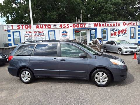 2008 Toyota Sienna for sale at 1 Stop Auto Wholesale Outlet in Norfolk VA