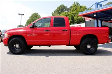 2004 Dodge Ram Pickup 1500 for sale at 1 Stop Auto Wholesale Outlet in Norfolk VA