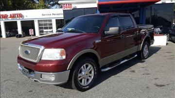 2004 Ford F-150 for sale at 1 Stop Auto Wholesale Outlet in Norfolk VA