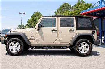 2016 Jeep Wrangler Unlimited for sale at 1 Stop Auto Wholesale Outlet in Norfolk VA