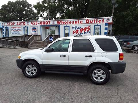 2005 Ford Escape for sale at 1 Stop Auto Wholesale Outlet in Norfolk VA