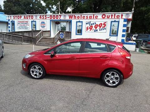 2012 Ford Fiesta for sale at 1 Stop Auto Wholesale Outlet in Norfolk VA