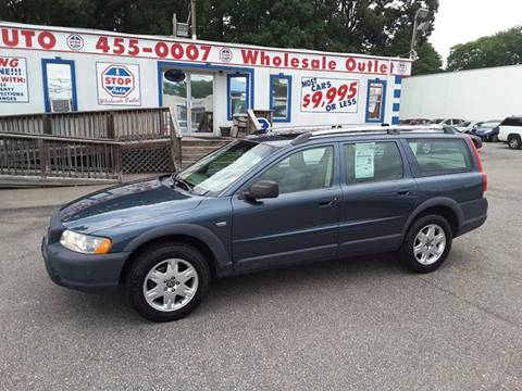 2006 Volvo XC70 for sale at 1 Stop Auto Wholesale Outlet in Norfolk VA