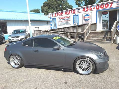 2004 Infiniti G35 for sale at 1 Stop Auto Wholesale Outlet in Norfolk VA