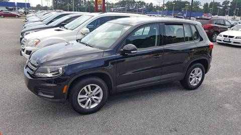 2012 Volkswagen Tiguan for sale at 1 Stop Auto Wholesale Outlet in Norfolk VA