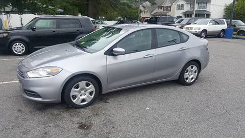 2016 Dodge Dart for sale at 1 Stop Auto Wholesale Outlet in Norfolk VA