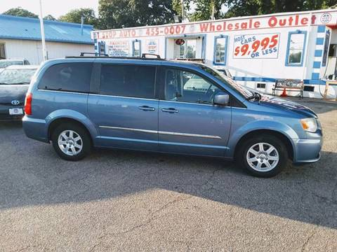 2012 Chrysler Town and Country for sale at 1 Stop Auto Wholesale Outlet in Norfolk VA